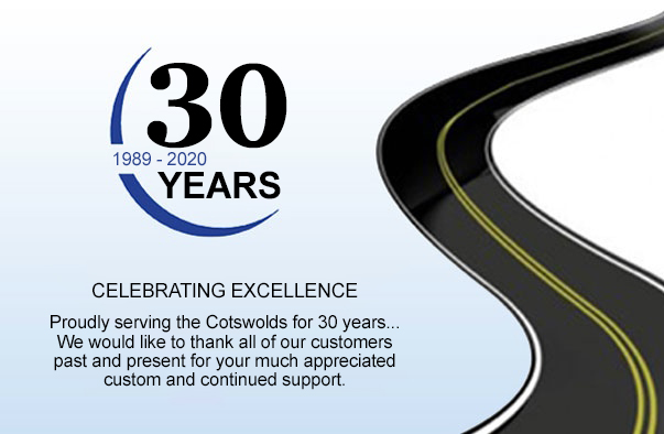 Celebrating 30 years of Cirencester Tyres